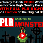 PLR Monster Mega Bundle & OTO Upsell by Daniel Sumner Review – Best Mega Bundle of 99 High Quality PLR with Done For You Packages include High Quality eBook, a Professionally written ready made Sales Page, a custom Squeeze Page, PSD Source Files, and all the eCover graphics