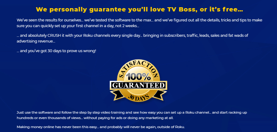 TV Boss Fire Software by Craig Crawford