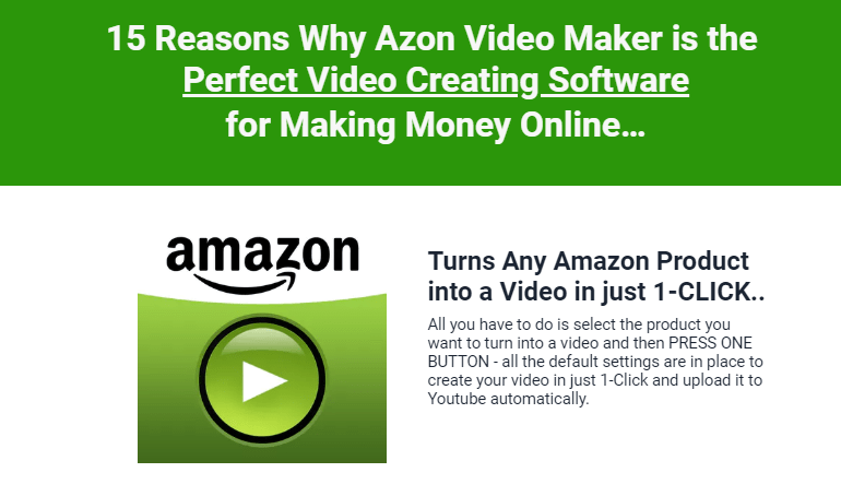 Azon Video Maker Ultimate Software by Ankur Shukla