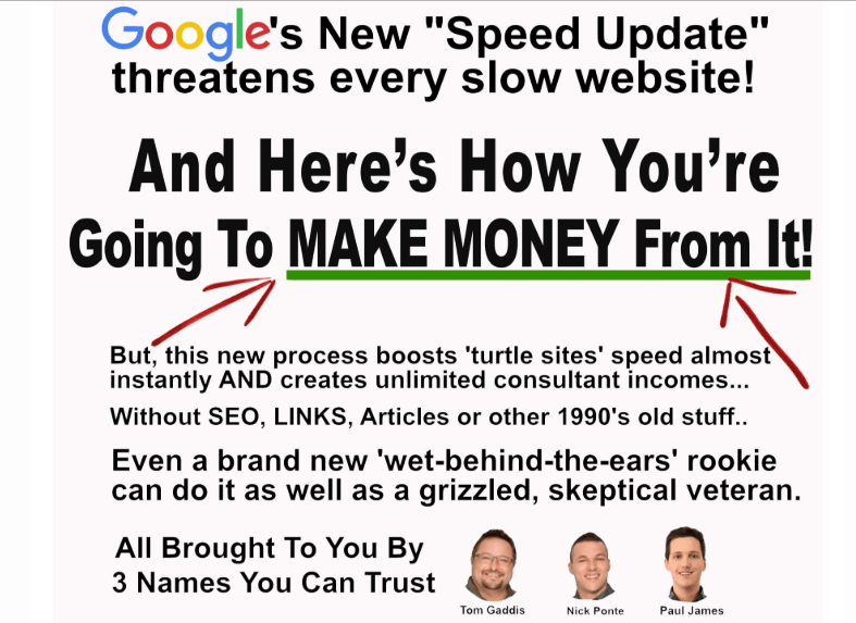 Site Speed Profits WSO System by Nick Ponte