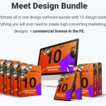 DesignBundle PRO Software Bundle & OTO Upsell by Simon Warner Review – Best All in one design software bundle with 10 design tools include Graphics designer, Page Builder, Logo creator, 3D Ecover creator, Mockup creator, and many more to create high converting marketing designs plus Free Commercial License