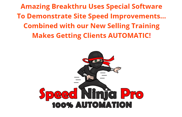 Speed Ninja Pro Software System & OTO by Mo Taqi