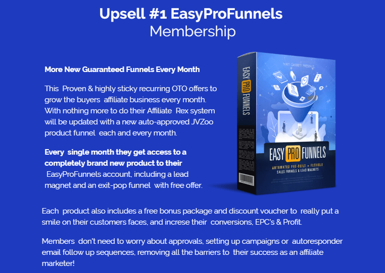 Easy Pro Funnels Software System & OTO by Matt Garret