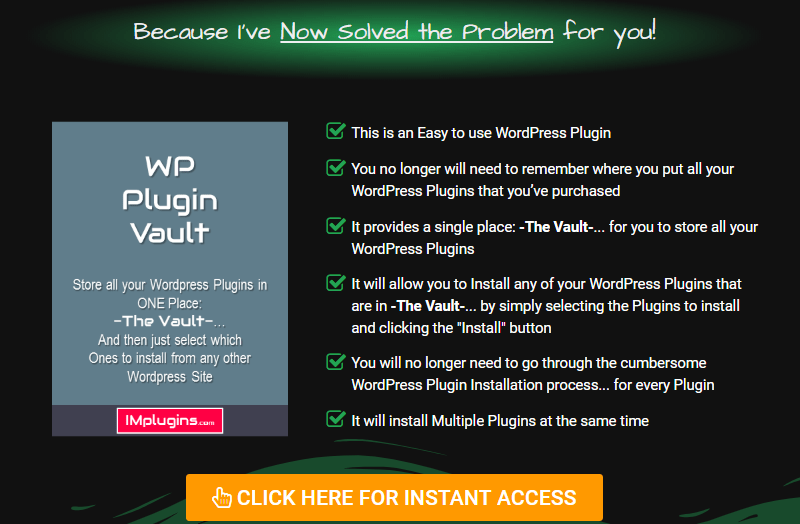 WP Plugin Vault Software WSO by Mark Slater