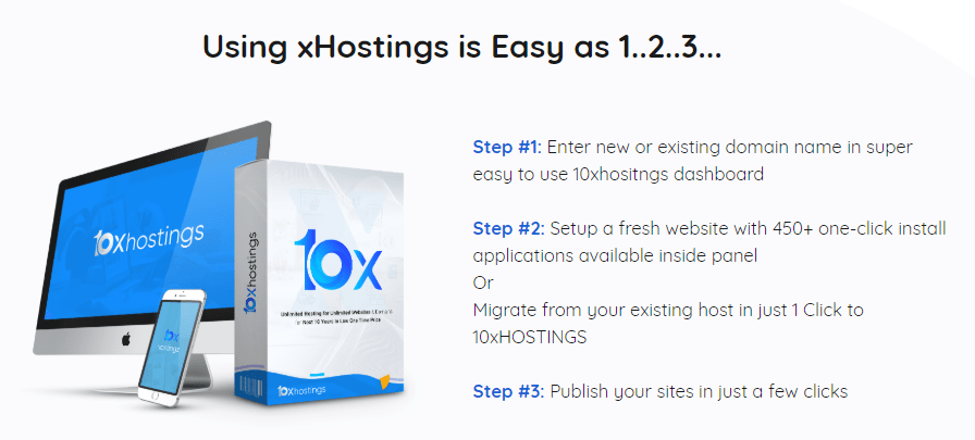 10XHostings PRO Hosting Package by Jay Sharma