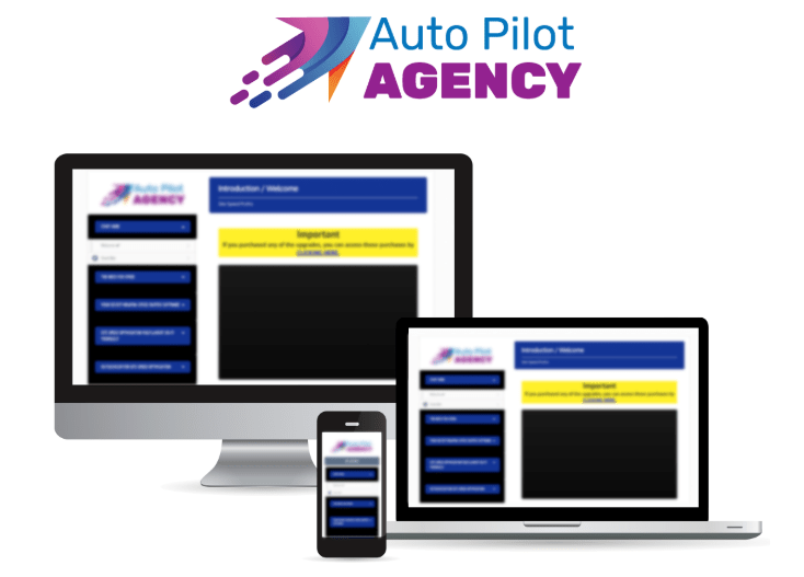 Auto Pilot Agency WSO Training & Software by Tom Gaddis