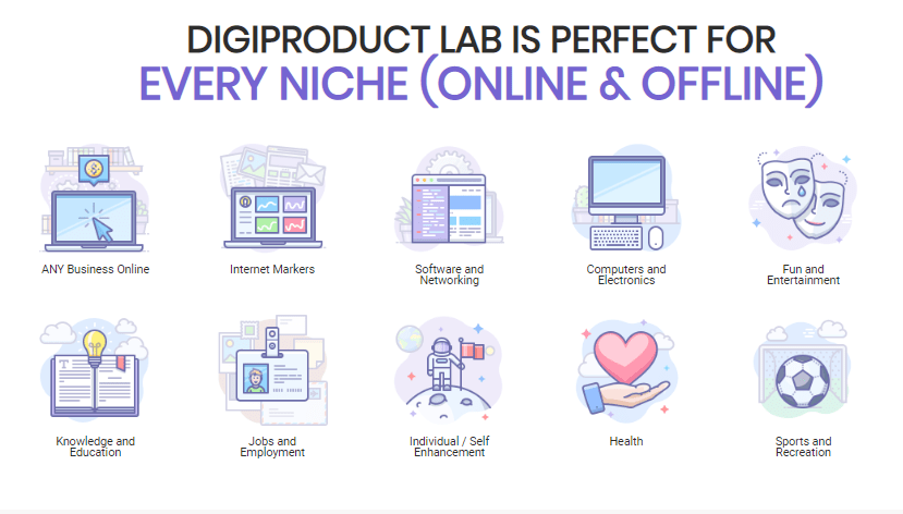 DigiProduct Lab Pro Software OTO Upsell by Glynn Kosky