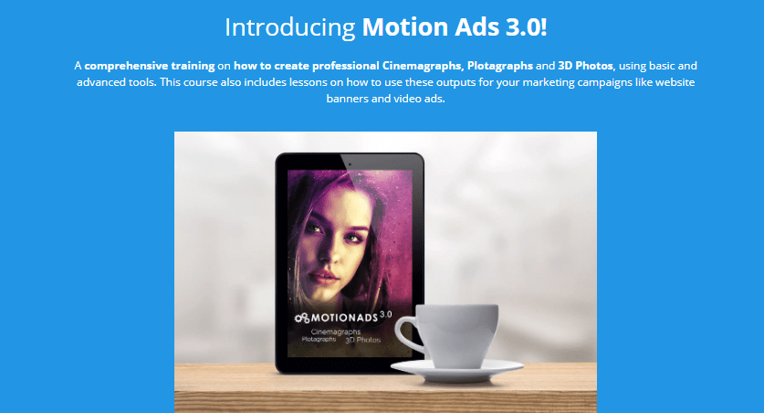 Motion Ads 3.0 OTO Upsell by Cham Altais