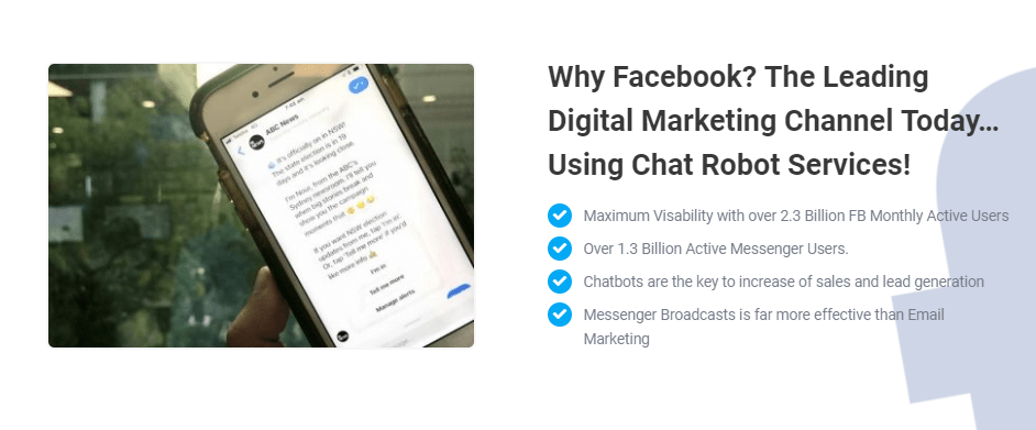 Chat Robot Ultimate FB Platform OTO Upsell by Mark Dulisse