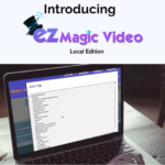 EZ Magic Video Local Edition by Matt Bush Review – Best Human Spokesperson Software Package Built By Marketers For Marketers Come with Access to Professional Clips, 40+ backgrounds, 40+ music tracks, detailed training, and more