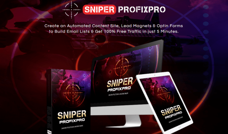 SniperProfiXpro Review & OTO Upsell by Mosh Bari