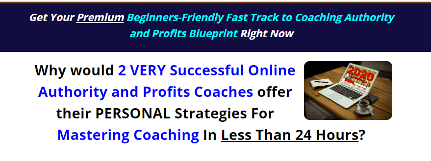 COACHFT: Fast Track to Coaching Authority and Profits & OTO Upsell by Barb Ling