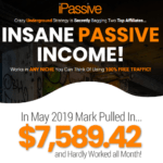 iPassive Training Review & OTO Upsell by Trevor C – New Training Course to Learn secret underground strategy that two affiliates have been using to pull in 633 Sales and $9,399.53 in Revenue on Just ONE of the Products with simple affiliate marketing strategy