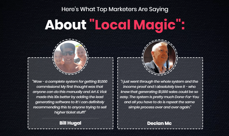 Local Magic System Software & OTO Upsell by Art Flair