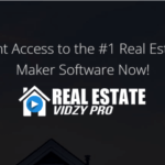 REAL ESTATE VIDZY PRO + OTO Upsell by StevesProfit Review – Best Real Estate Video Maker Software with Multiple High Converting Templates to create real estate marketing videos in 4 Steps for YouTube, Facebook, Instagram, LinkedIn, and more