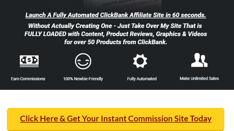 Instant Commission Site Software & OTO Review by Ankur Shukla