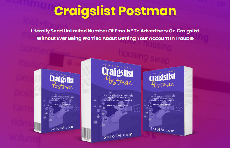 Craigslist Postman Software + OTO Review by Mehdi Marani