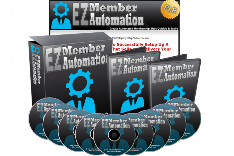 EZ Member Automation PLR Video Series + OTO