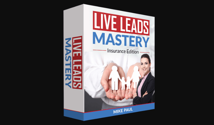 Local Live Leads: Insurance Edition + OTO by Mike Paul