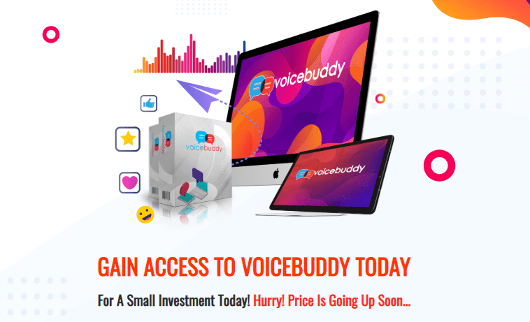VoiceBuddy App & OTO Upsell by Ali G