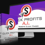 Click Profits AI Software & OTO Upsell Review by Mo Taqi – Best Local Lead Finder Software to Search and Find Local Business leads that need your online helps and will pay you thousands of dollars quick and simple