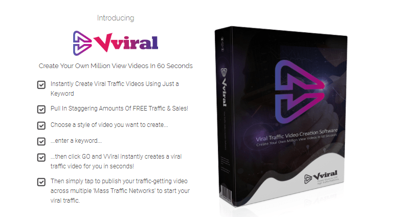 VViral Video Builder Software by Mark Bishop