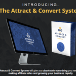 The Attract & Convert System & OTO Review by Edwin Mik – Simple Training System Discover How to generating leads and affiliate commissions using SIMPLE yet very POWERFUL affiliate marketing strategies and organic traffic generation method