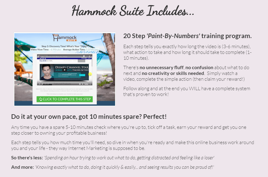 Hammock Suite System & OTO by Cindy Donovan