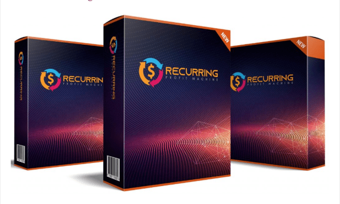 Recurring Profit Machine Software & OTO Upsell by Glynn Kosky