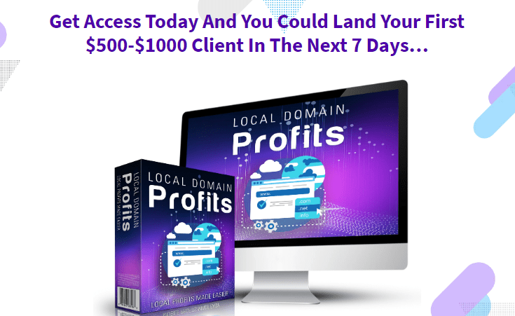 Local Domain Profits & OTO by Mo Taqi