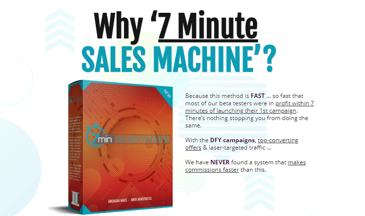 7Min Sales Machine & OTO by Brendan Mace