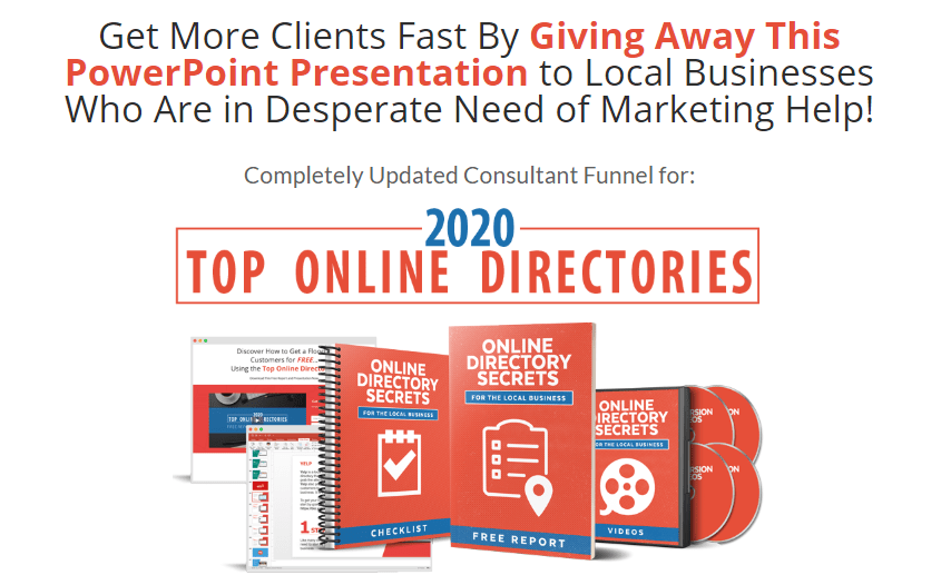 2020 Top Online Directories PLR & OTO by Drew Laughlin