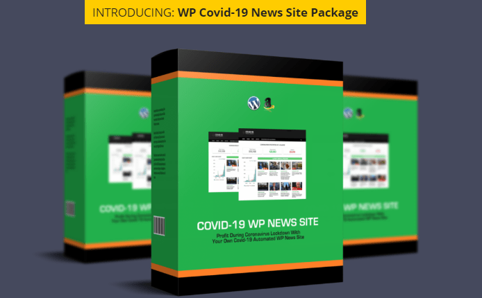 Covid-19 WP News Site & OTO by BCBiz