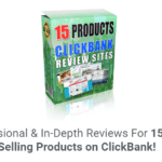 ClickBank Reviews Website DFY & OTO Review – Best Clickbank Reviews Package include 65 TopSeller Clickbank Product (15 FE & 50 OTO) to Launch Your High Converting ClickBank Reviews Website In 15 Minutes and Dominate ClickBank to Become A Super Affiliate