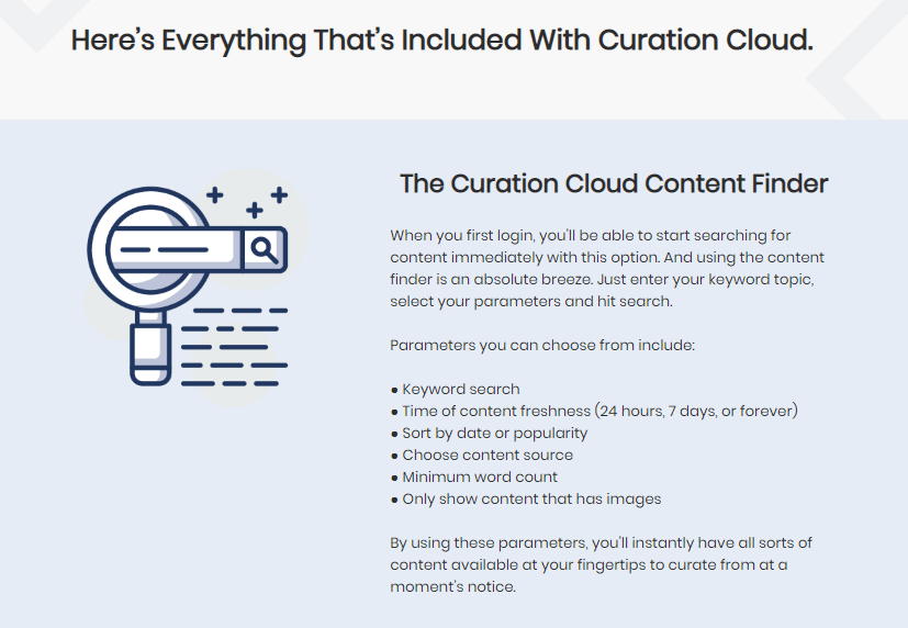 Curation Cloud Software & OTO by Richard Fairbairn