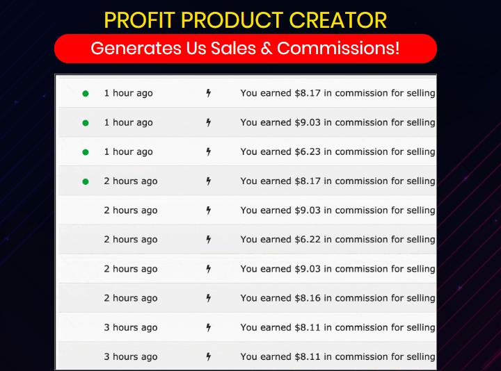 Profit Product Creator Software System & OTO by Glynn Kosky