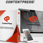 ContentPress Plugin & OTO Review by Mike Mckay – Best WP Plugin That Generates Unlimited, Quality Content & Info-Products Totally Hands-Free Just Insert Your Keyword And With Built-in Traffic Generators and Commercial License Included