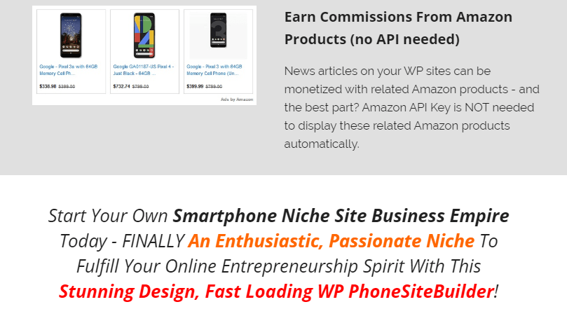 WP ArenaPhone Site Builder & OTO by BCBiz