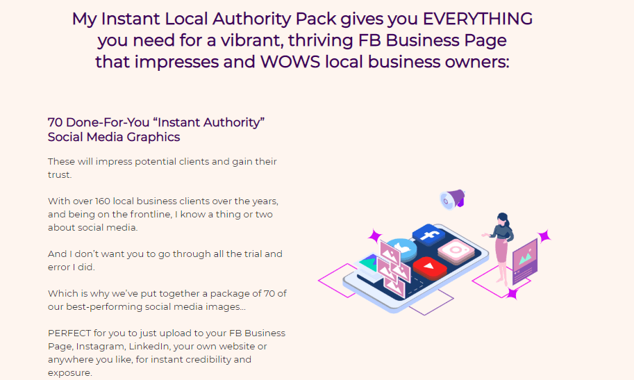 Instant Local Authority Pack & OTO by Ivana Bosnjak