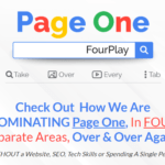 Page One Four Play Offer & OTO Review by James Renouf – How We Are DOMINATING Page One On Four Different Pages: Google Search, Video Search, Image Search & YouTube Very Quickly with a super simple 3-step Process