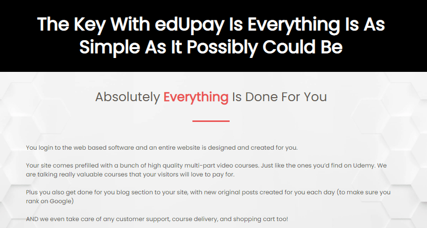 edUpay PRO Software & OTO by Dan Green