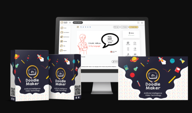 DoodleMaker PRO Software & OTO by Paul Ponna
