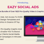 Eazy Social Ads PLR Bundle & OTO by Tony Earp – Best PLR Bundle of 1625 Stunning Pro-Quality Video, Graphic, Social Media Templates and Print Ready Graphics To Design Pro Quality Graphics And Promo Ads For Social Media In Minutes