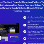 MarketPal Pro Software & OTO Review by Amit Pareek – Best App Software to Create Lightning Fast Pages, Pop-Ups, Splash Pages, Sticky Bars with Over 200+ Ready to Use Templates And Send Unlimited Emails to Triple Your Results with Sales Booster that Trusted By 10,000+ Happy Customers