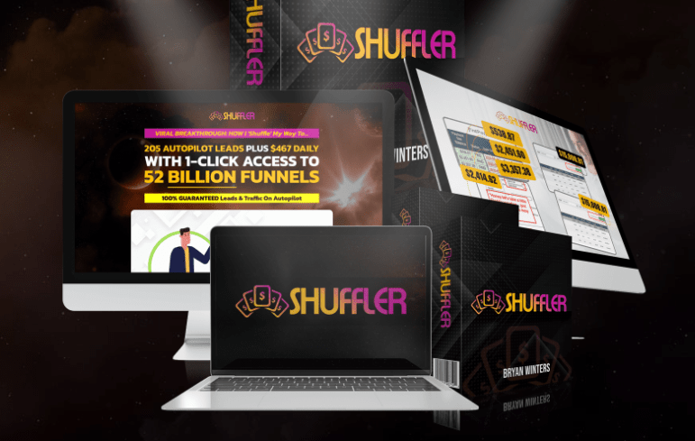 Shuffler Funnel Software & OTO by Bryan Winters