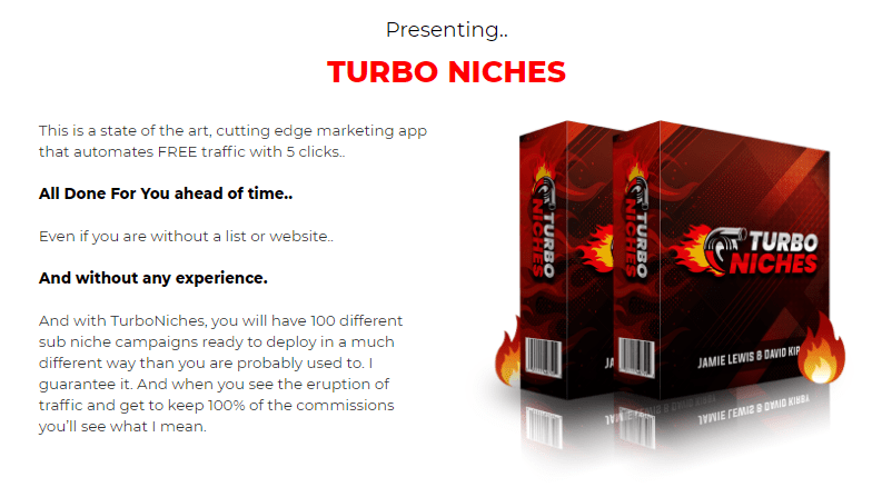 TurboNiches Software & OTO Review by Jamie Lewis
