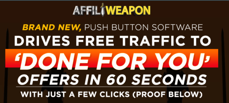 AffiliWeapon Software & OTO by Jason Fulton