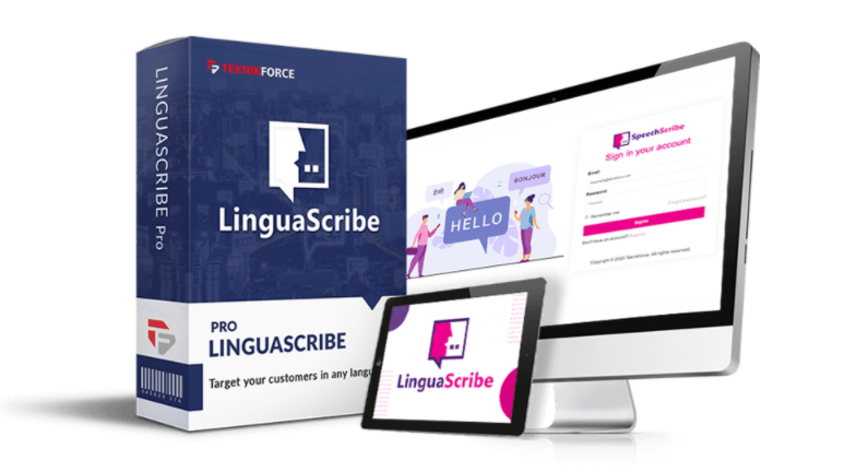 LinguaScribe PRO Software & OTO by Ben Murray