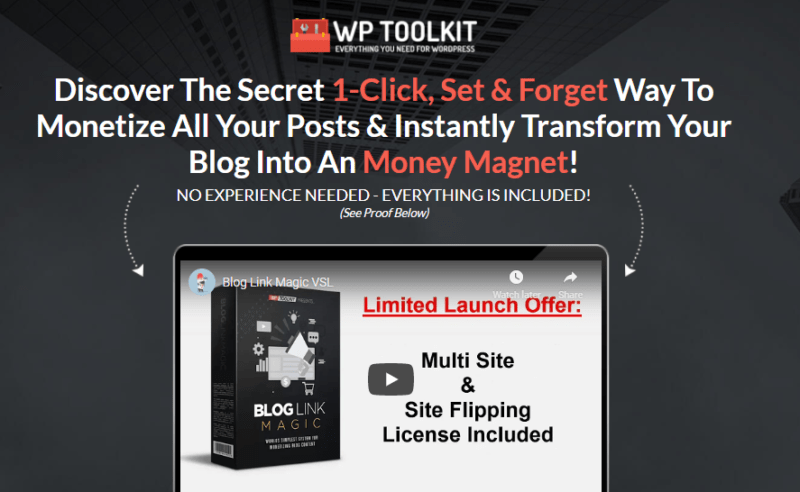 Blog Link Magic Review + OTO
