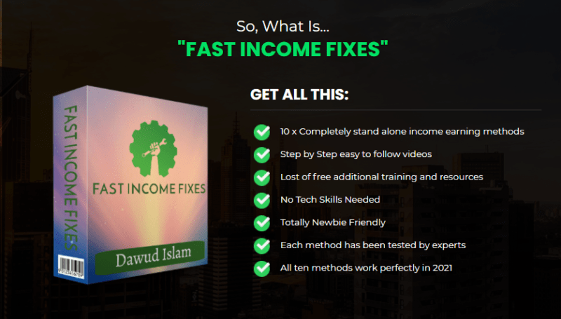Fast Income Fixes Training Review + OTO